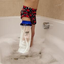 Badeschutz ganzes Bein für Kinder